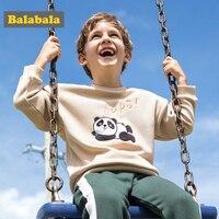 Balabala Bambino ragazzi Felpa In Cotone Con Cappuccio panda Bambini hoodies Bambini Maglione in pile Vestiti primaverili Magliette Casual Costume