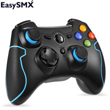 EasySMX ESM-9013 Wireless Gamepad Game joystick Controller Compatible with PC Windows PS3 TV Box Android Smartphone(China)