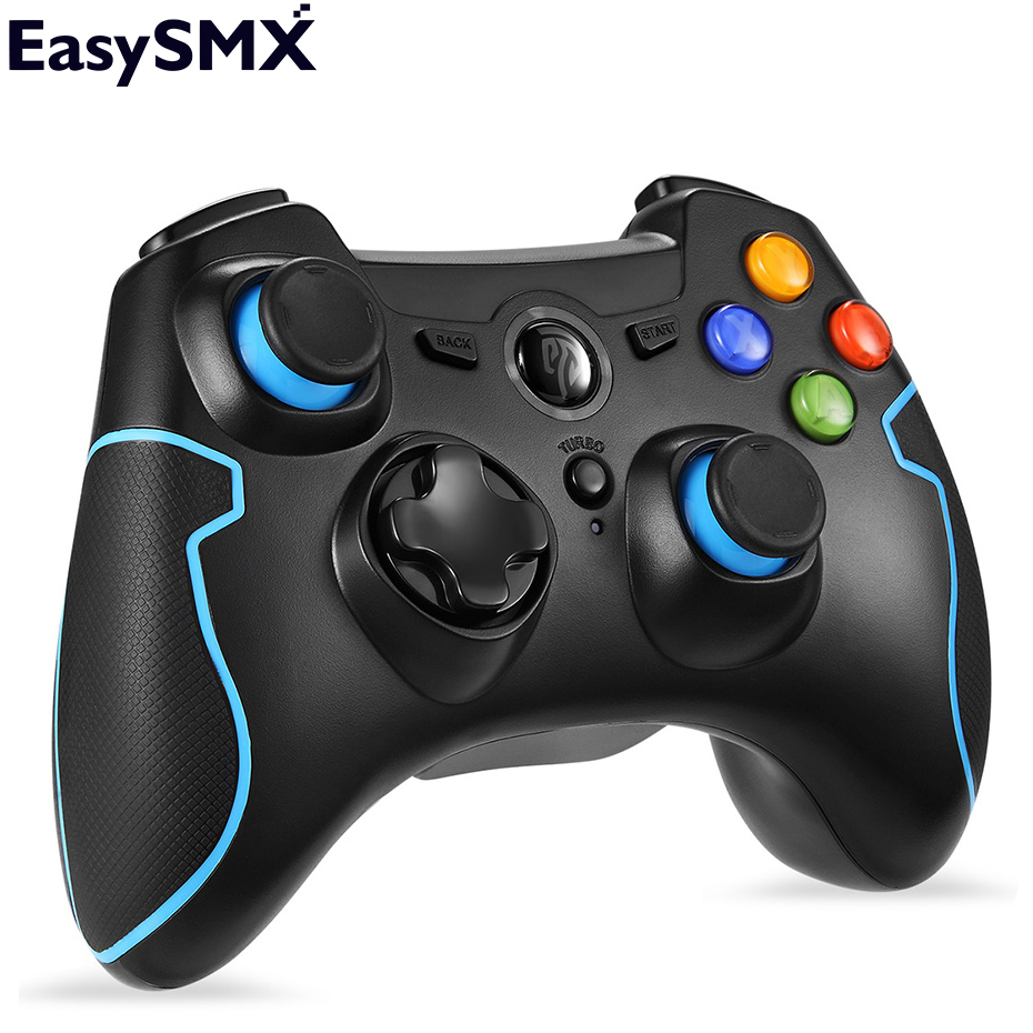 EasySMX ESM-9013 Wireless Gamepad Game joystick Controller Compatible with PC Windows PS3 TV Box Android Smartphone