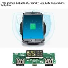 Dual USB 5V 2A Batterie Ladegerät PCB Power Modul 139-U-PN969 LED Digital Display Mobile Power Bank Zubehör Für Telefon DIY(China)