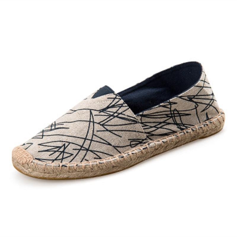 Confortable Casual Toile Plat Nouveau Chaussures 1 En Été 2 Pêcheur Espadrilles 2018 8fFqWT