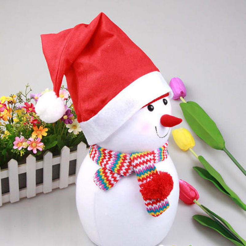 Christmas Tree Hats: Mini Christmas Santa Claus Hats Xmas Snowman Hat Wedding