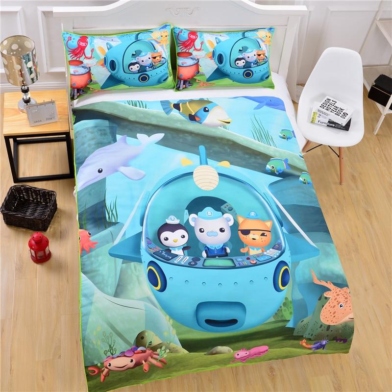 Best Octonauts Toys Kids : Octonauts bedding duvet cover kids soft funny