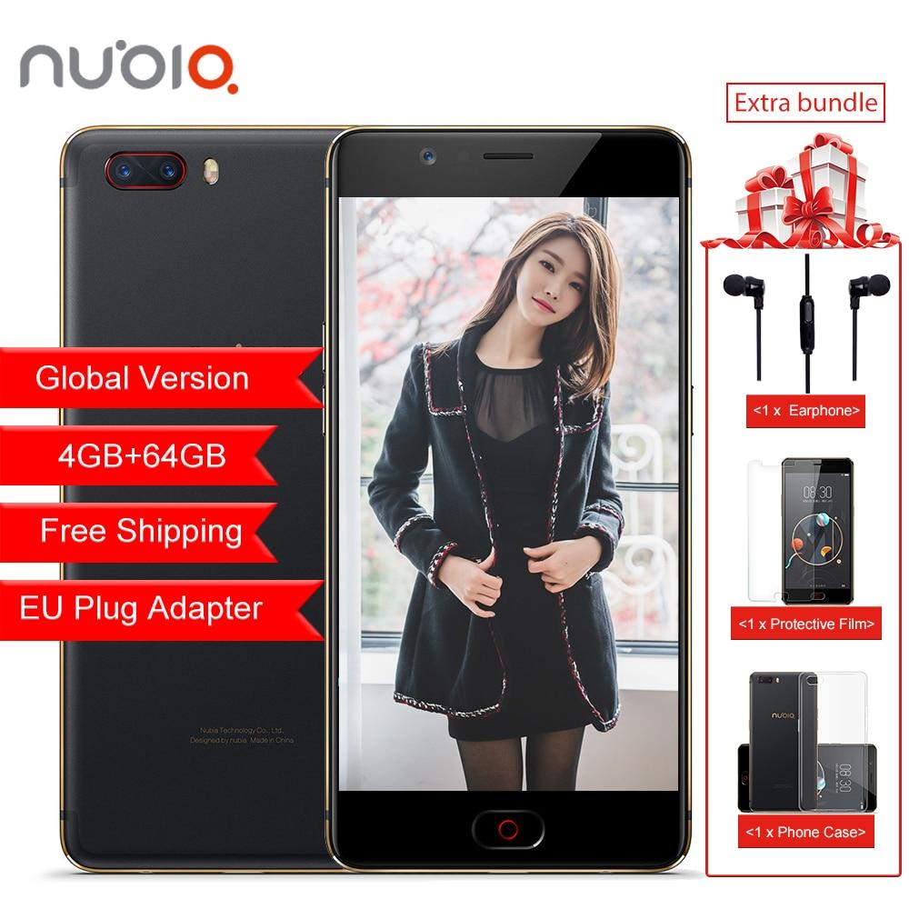Global Version Nubia M2 4GB RAM 64GB ROM Mobile Phone Snapdragon 625 Octa Core 4G LTE 13.0MP+13.0MP Dual Rear Camera