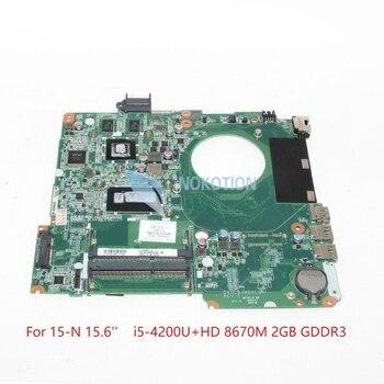 NOKOTION 725611-001 732088-501 732088-001 DA0U83MB6E0 For hp Pavilion 15-N 15-n305tx 15.6 inch laptop motherboard SR170 i5-4200U