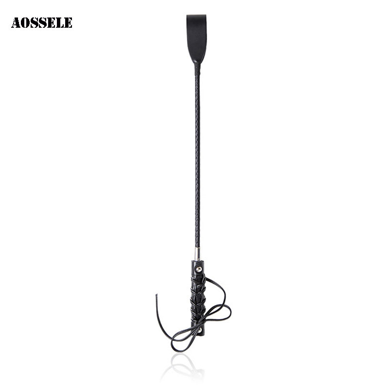 Horse Whip Sex Spanking Knout Leather Whip Sword Handle Lash Fetish Flogger Adult Sex Toys For Couples Women Slave BDSM Flirting