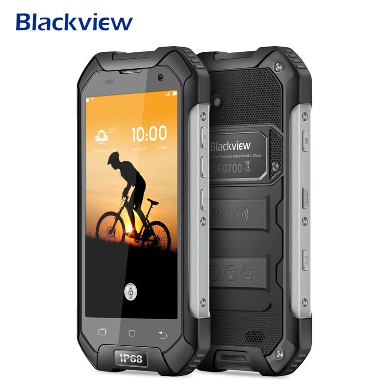 Blackview BV6000 Smartphone IP68 Waterproof 4.7 Inch 4G LTE Mobile Phone MTK6755 Octa Core 3G RAM 32G ROM 13.0MP NFC Cellphone