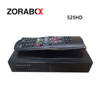 ZORABOX ZR525 FULL HD Receptor de Satélite Linux Sistema DM525 OEM HD DVB-S2/C + T2 Sintonizador Triple BCM73625 Solución H.265 IPTV CCCAM