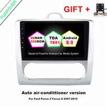 Funrover Android 8.0 2 Din Car Dvd Gps Player For Ford Focus 2004-2011 With 9″ Octa Core Stereo Autoradio Headunit Multimedia