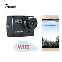 Trlandle Mini WiFi Car DVR 1080P FHD Dash Cam Recorder Rotatable Lens G Sensor Car Camera