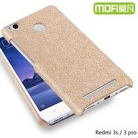 Redmi 3 Pro Cover Case For Xiaomi MOFi Original Xiomi Red Mi 3 Case Leather Matte