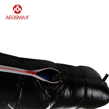 AEGISMAX White Goose Down Sleeping Bag Ultralight Baffle FP800 G1-G5 4