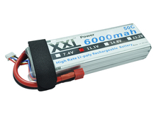 XXL RC Lipo Battery 6000mAh 11.1V 3S 50C AKKU for Helicopter Qudcopter Car Traxxas KT Plate DJI Drone FPV
