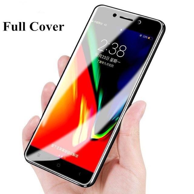 Penuh Tempered Glass untuk Xiaomi Redmi 5A 4X Note 4 Global Catatan 5A Prime Screen Protector Pada Xiomi Redmi 5 plus 4A Pro Cover 9 H