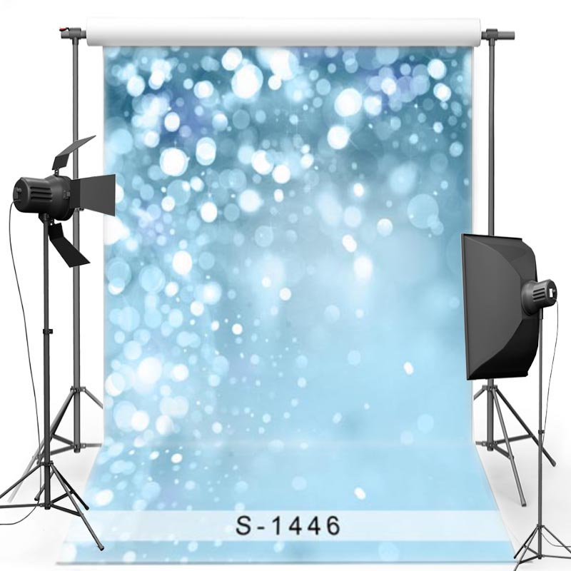 MEHOFOTO Blue Sparkle Vinyl Photography Background For Children Shimmer New Fabric Polyester Backdrops for photo studio S1446 mehofoto 8x12ft vinyl photography background christmas theme backdrops light for children snow for photo studio st 328
