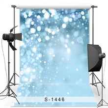 MEHOFOTO Azul Brilho Vinil Fotografia Fundo Para Crianças Shimmer Novo Tecido de Poliéster Cenários para photo studio S1446
