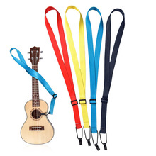 New! Ukulele Strap Sling Fits All Size 21″ 23″ 26″ Accessories Durable Weaving Nylon Cloth Length 65-90cm Adjustable