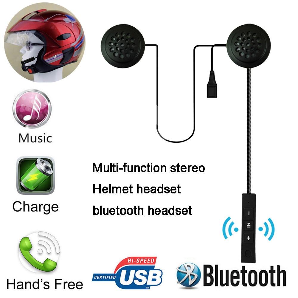 Franchise Motorcycle Helmet Wireless Bluetooth 4.0 Headset Stereo Earphone Hand Free Headphone Cascos Inalambrico Headset  #0311