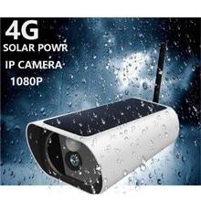 4 グラムソーラー ip カメラ gsm 電話/コール/sms sim リモコン 1080 1080p 2MP ワイヤレススマート電気ソケット 4 アウトレット英国/eu/米国/au プラグ