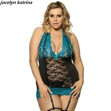8b124988d Jocelyn katrina marca mulheres acrescenta fertilizante exótico lingerie sexy  lace ligas sem encosto ternos saia da cama