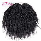 "HANNE 6pcs Freetress Low Temperature Fiber 10"" 52strands/piece Pre Loop Island Twist Crochet Braids Synthetic Hair Extensions"