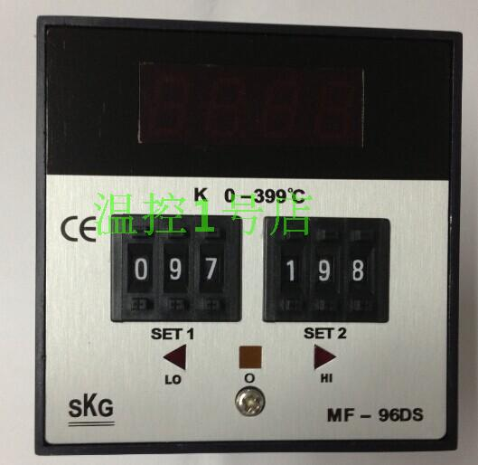Genuine SKG digital double dip MF-96DS temperature controller MF96DS genuine security Shelf