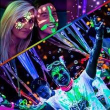 20ml UV Glow Neon Face Body Paint Fluorescent Bright Fluo Irradiate luminescent Party Festival Decoration Makeup  WH998