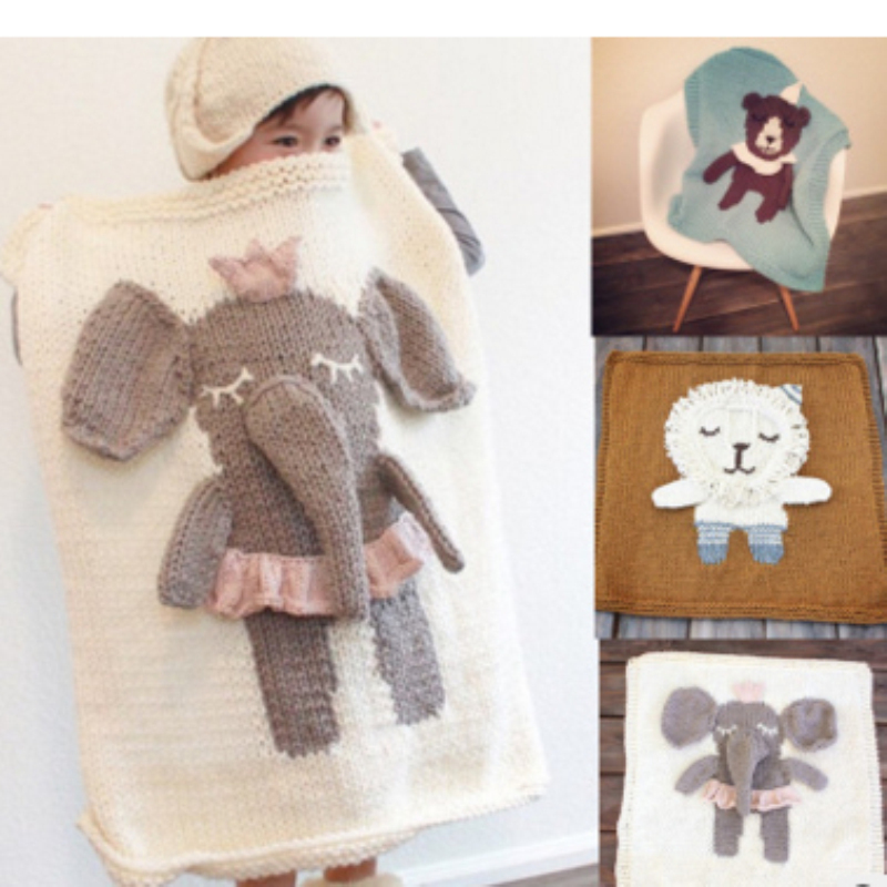 2016 Fashion Cartoon Baby Blankets Newborn Girls Boys