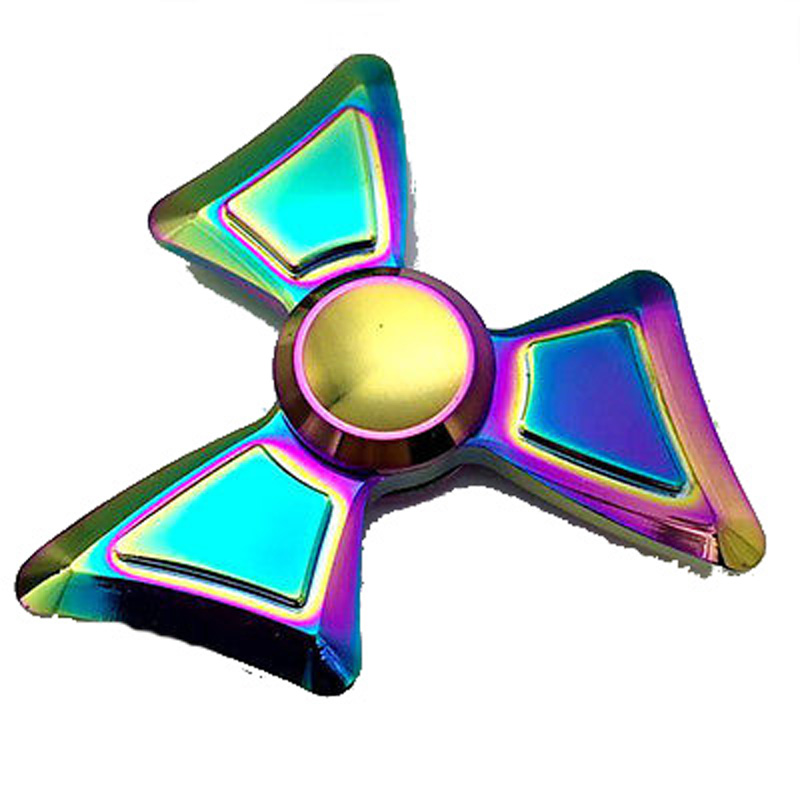 Decorative NEW Hand Fidget Spinner luxury Colorful color Focus Desk Toy EDC Finger Gyro