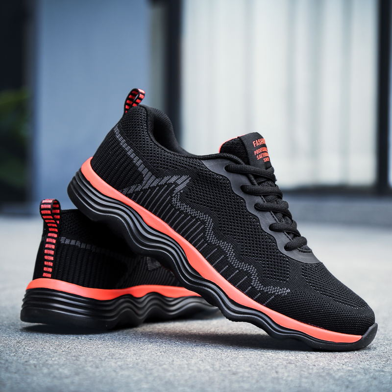 LAISUMK Fashion Men Shoes Casual Outdoor Sneakers Shoes For Men Breathable Mesh Breathing Comfort Shoes Men Zapatos Hombre in Men 39 s Casual Shoes from Shoes