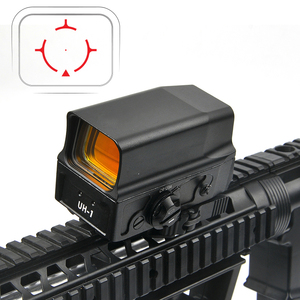 Image 4 - Optical UH1 Red Dot Sight Scope Reflex Sight Holographic Sight for 20mm Rail Hunting Scopes with USB Charge
