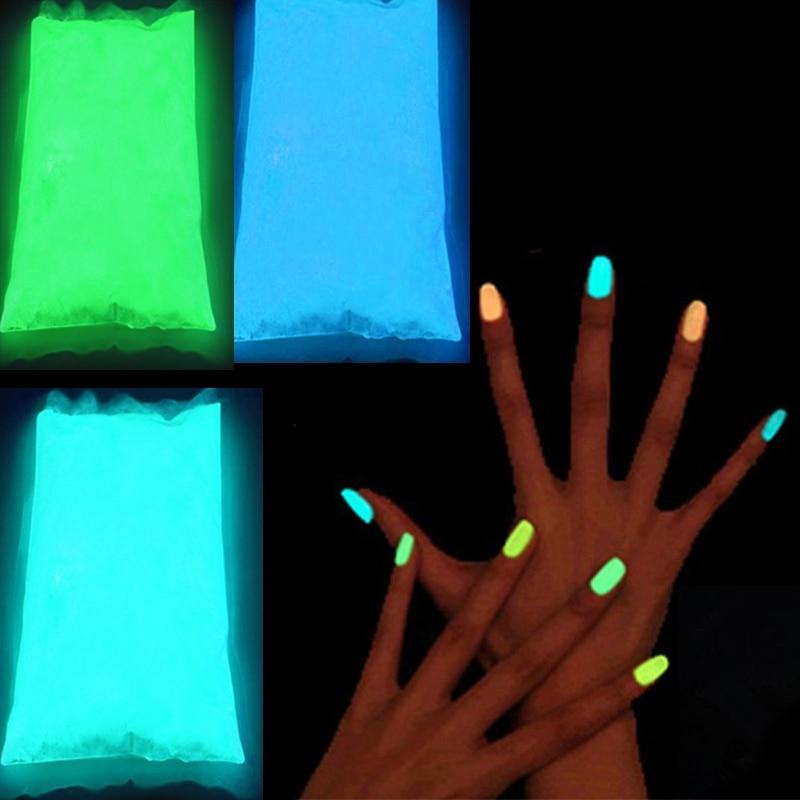 Glow In The Dark Powder 1000g Lot Fluorescent Super Bright Glow in the DarkPowder Glow Luminous