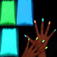 Glow In The Dark Powder 1000g/Lot Fluorescent Super Bright Glow in the DarkPowder Glow Luminous Pigment Nail Pigment PowderFPB48