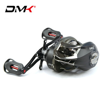 DMK Baitcasting Reel 14BB/6.3:1/8kg Lure Fishing Reel Molinete Peche Carretilha Carretes Pesca Round Coil Saltwater Casting Reel