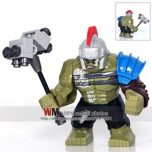 World Minifigs Super Heroes Avengers Blocks Model Bricks