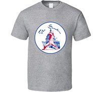 Gildan Washington Senators Retro Baseballer Team T Shirt