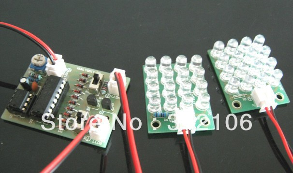 Free Shipping!!! Strobe kit diy electronic production suite