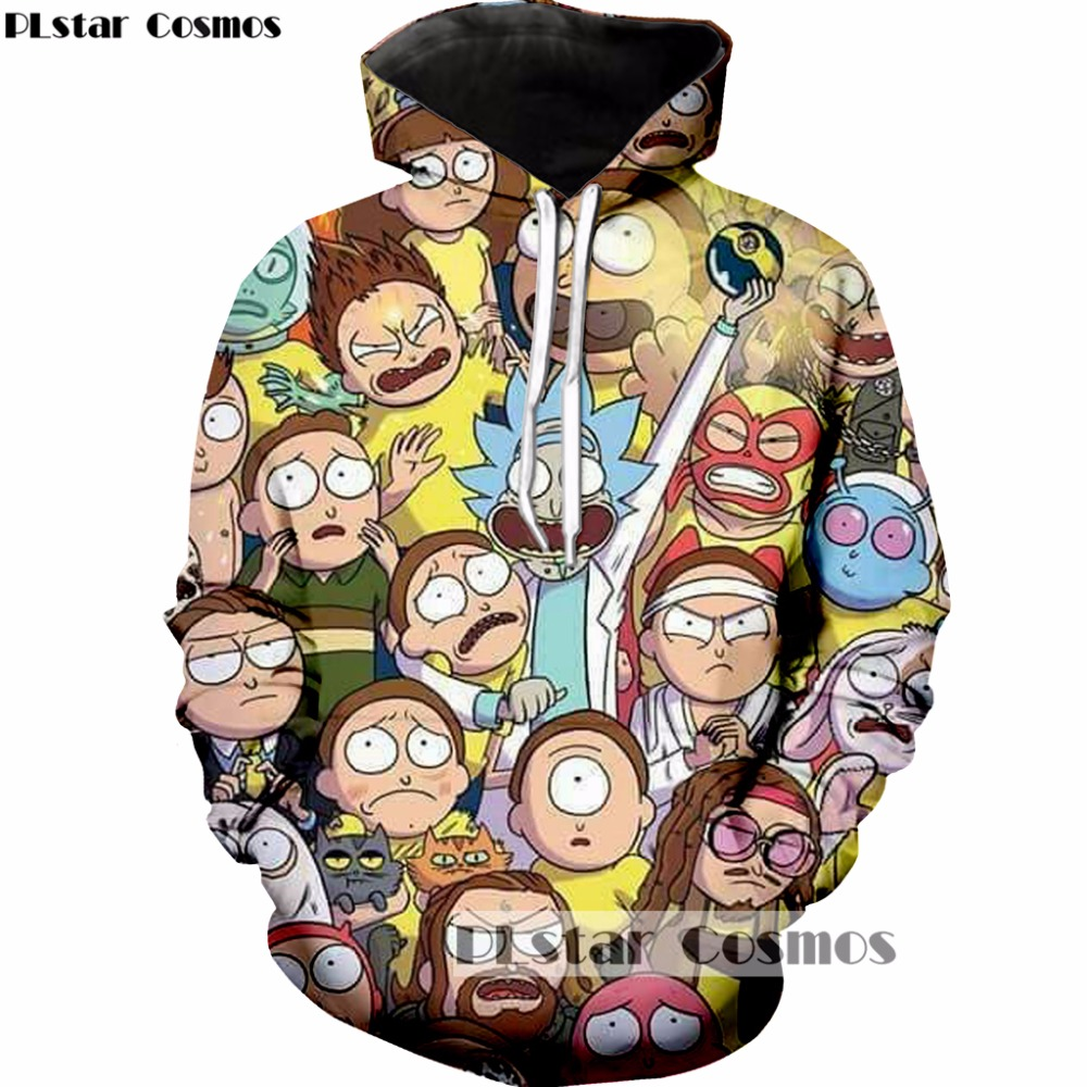Liumaohua 2018 New Fashion Mens 3d Shorts Cartoon Rick And Morty Printed Unisex-adult Summer Casual Short Free Shipping Online Shop Men's Clothing