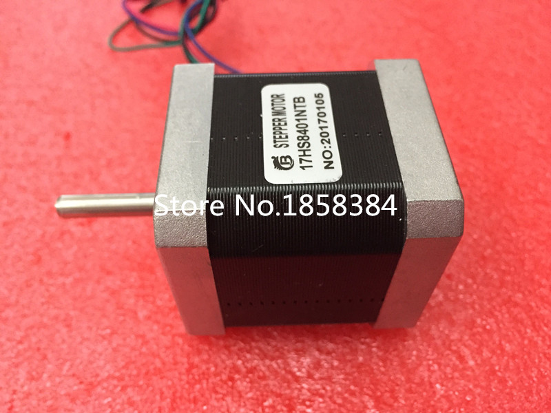 Free shipping 5 PCS lot 4 lead Nema 17 Stepper Motor 42 motor 17HS8401 1 8A