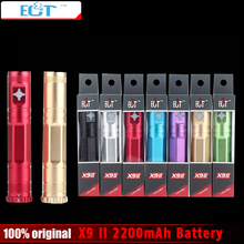 2015 New X9 II  2200mah Battery Electronic Cigarette Voltage Variable Battery 3.3V-4.8V X9 Upgraded for 510 eGo Atomizer E Cigs
