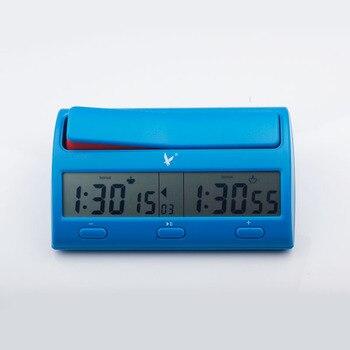 Pendule d'échecs électronique compétition numérique - multifonction minuterie compte arrêt - horloge professionnelles 1
