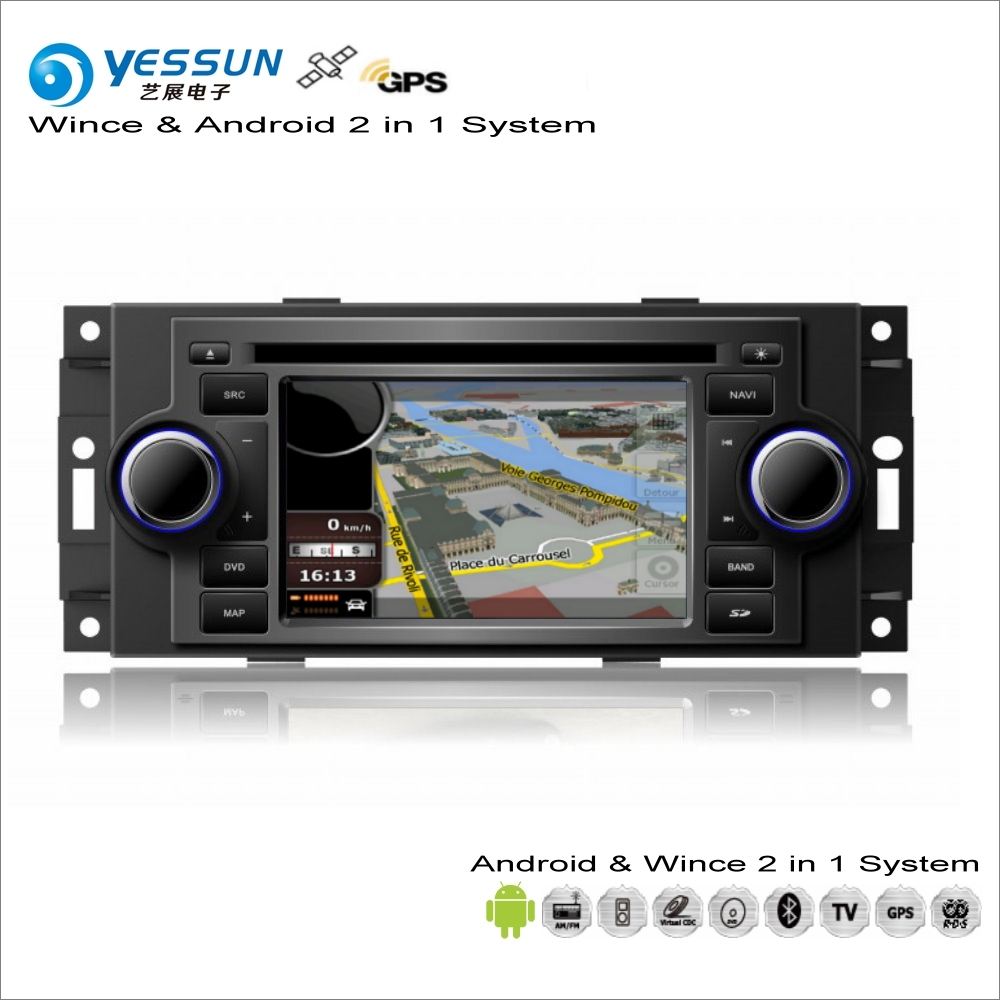 YESSUN For JEEP Compass / Patriot 2008~2013 - Car Android Multimedia Radio CD DVD Player GPS Map Navigation Audio Video Stereo цена 2017