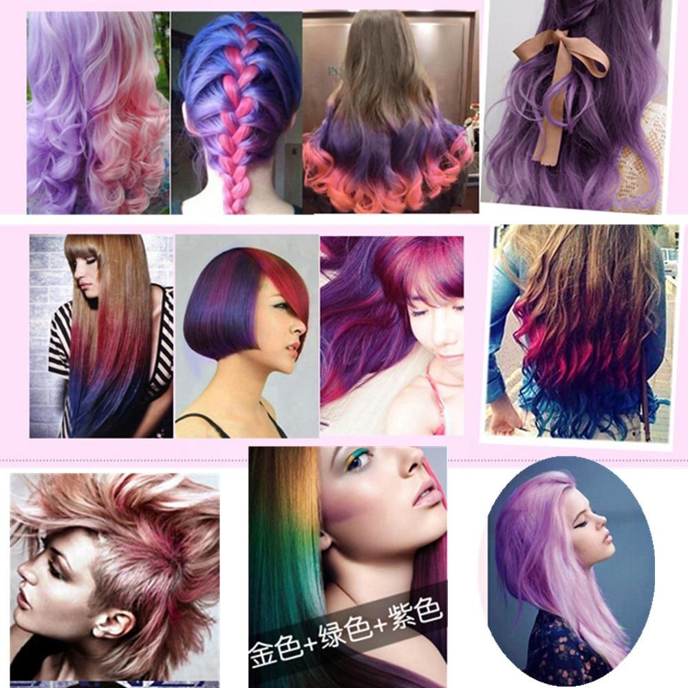 Temporary Hair Color Hair Dye Non Toxic Diy Hair Color Cream Mascara