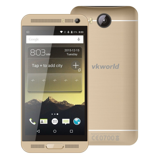 New VKworld VK800X 5.0 inch IPS Screen Android 5.1 Smartphone MTK6580 Quad Core 1.3GHz RAM 1GB ROM 8GB Dual SIM WCDMA & GSM