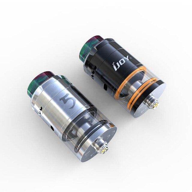 Электронная сигарета IJOY rdta 5 танк распылителя 4 мл смолы дрип-тип регулируемый по бокам воздуха для поле mod VAPE VS MELO 3 мини