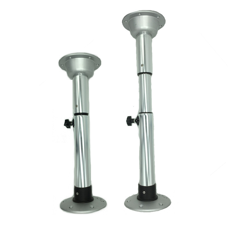metal caravan telescopic table leg MPV removable table mounts with height adjustable parts RV table leg