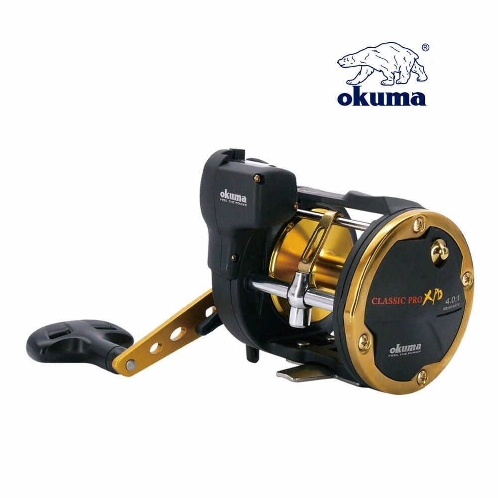 High quality Okuma  XPD-20D Fishing Reel Bait Casting Drum Reel Boat Fishing Reel Right Hand Reel nunatak original 2017 baitcasting fishing reel t3 mx 1016sh 5 0kg 6 1bb 7 1 1 right hand casting fishing reels saltwater wheel