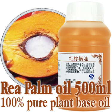 ФОТО Free shopping100% pure plant base oil Essential oils skin care Red palm oil 500ml Massage Oil Moisturizing Vitamins