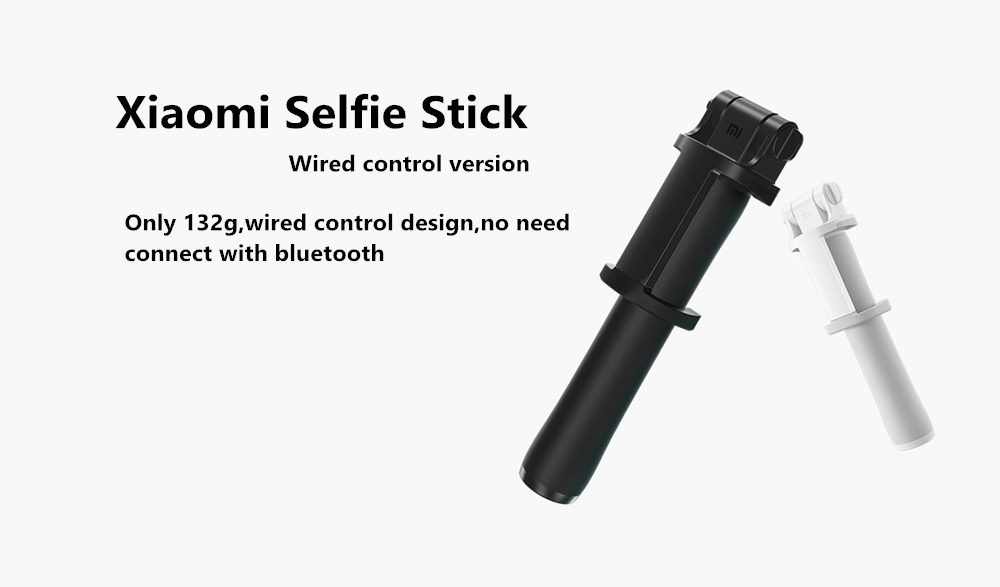 Newest Xiaomi Monopod Mi Selfie Stick Bluetooth Tripod With Wireless Remote 360 Rotation FlexiableWired Version Android 4.3 IOS (14)