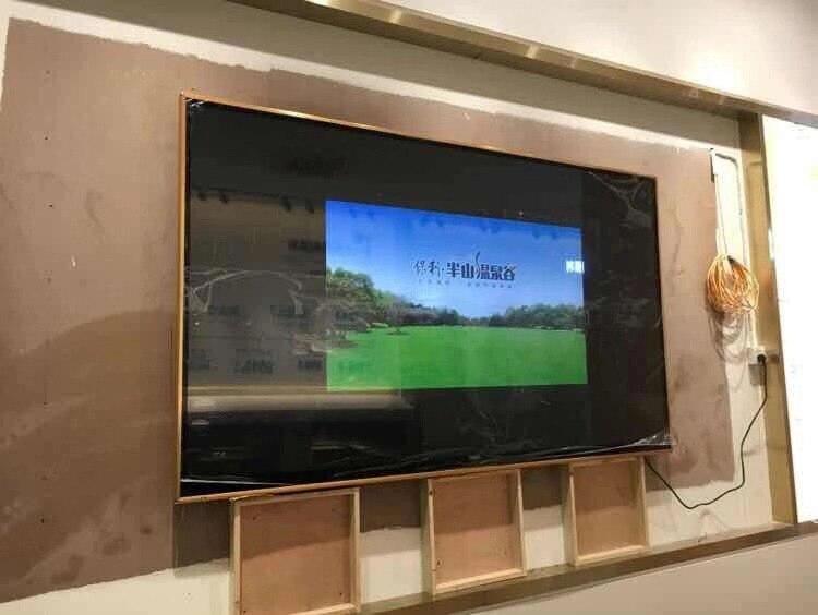TV plana delgada 65 70 75 85, 100 pulgadas, Smart Android, LCD, televisor LED, TV wifi Telémetro de doble burbuja Horizontal SNDWAY, medidor de distancia láser, rango de herramienta manual alimentada por batería, dispositivo SW-TG50 70 100 120M